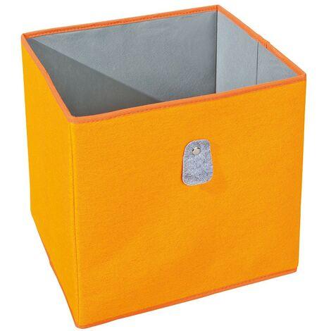 Biboxx - Bac de Rangement Orange