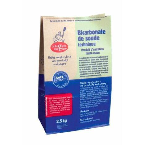 Bicarbonate de soude, par 2.5 kg