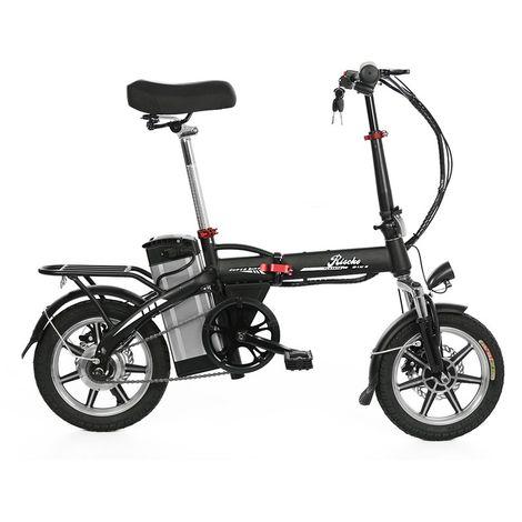 Bicicleta eléctrica plegable volt batería 10,4 bep-48