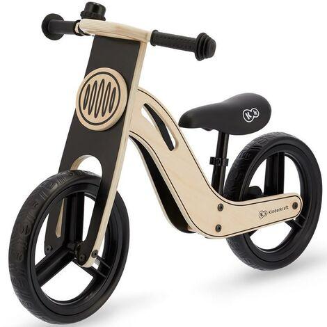 Bicicleta sin pedales color negro UNIQ Kinderkraft