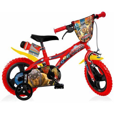 Bicicletta Bimbo Gormiti 12 Pollici 3 4 5 Anni Per Bambino Con