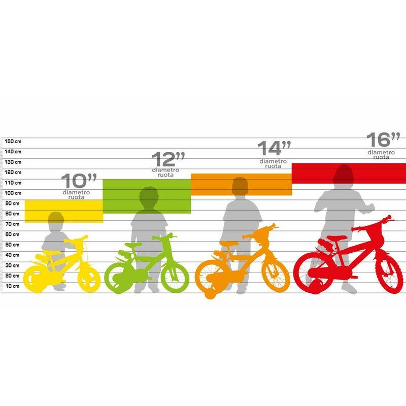 Bicicletta Per Bambino 12 Pollici Dinosaur Con Rotelle 3 4 5 Anni Bici Bimbo