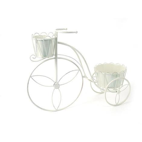 Bicicletta Portafiori In Ferro Grande