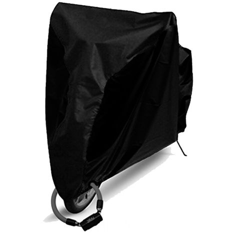 Bicycle cover black S