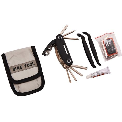Bicycle Repair Tool & Puncture Repair Kit