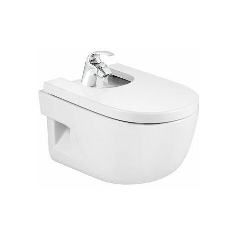 Bidé de porcelana suspendido - Serie Meridian , Color Blanco - Roca
