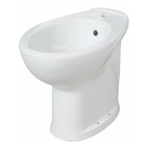 Bidet en ceramica H 49cm 10207 | Blanco