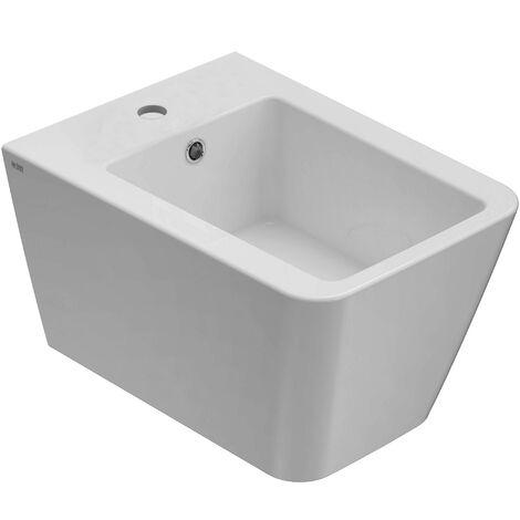 Bidet Sospeso Ceramica.Bidet Sospeso Ceramica Globo Incantho Ins10 Bi Bianco Lucido Globo Bi