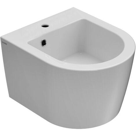 Bidet suspendu ceramica Globo FORTY3 - 43 x 36 cm FOS12
