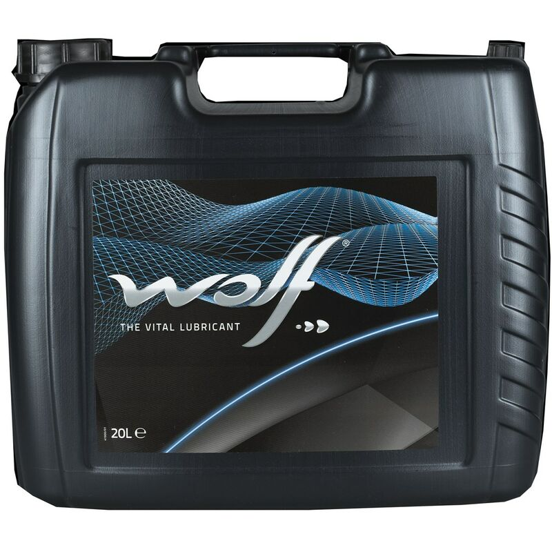 Bidon 20 litres d'huile paraffinique HYDRAULIC HV ISO 22 - 8304484 - Wolf