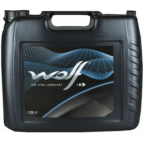 Bidon 20 litres d'huile paraffinique Wolf HYDRAULIC HV ISO 46 8305689