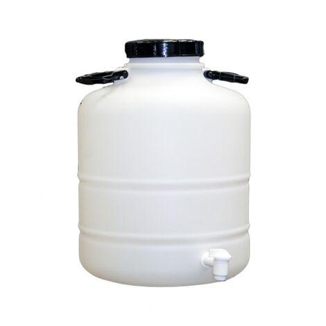 Bidon 30 litros con grifo plastico