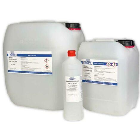 Bidón 30 lts Líquido desinfectante para MANOS LP215/20 - talla