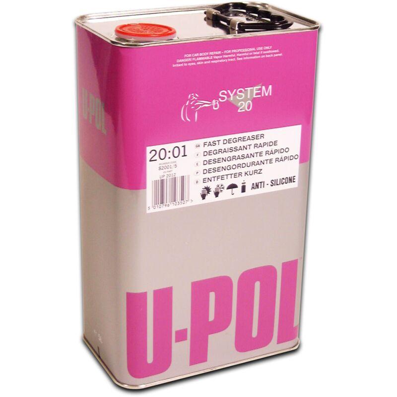 UPOL - Bidon 5 litres dégraissant rapide - S2001/5