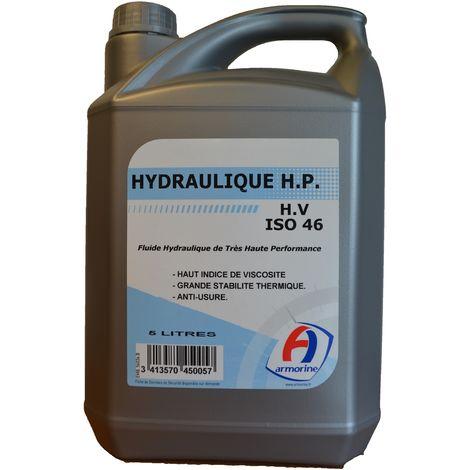 Bidon 5 litres huile Hydraulique HP ISO 46 - ARMORINE - 450