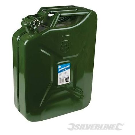 Bidon à essence métallique 20 litres