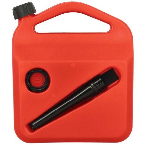 Bidon carburant avec flexible homologue 5l