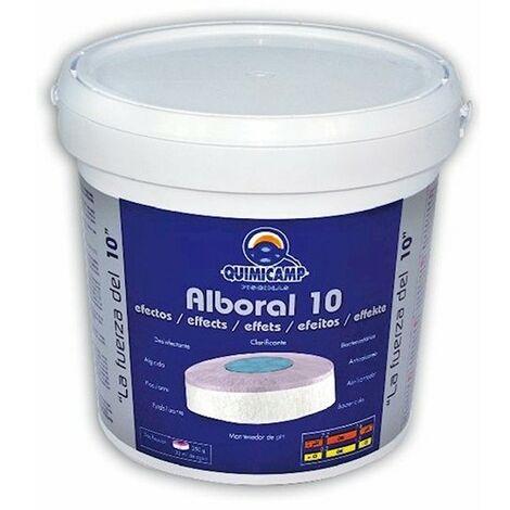 Bidon cloro pastilla 10 elementos alboral 5 kg.