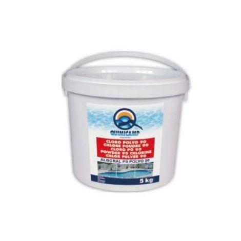 Bidon Cloro Polvo 5 Kg. 90%