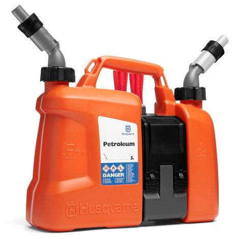 Bidón Combi 5L gasolina - 2,5L aceite Husqvarna