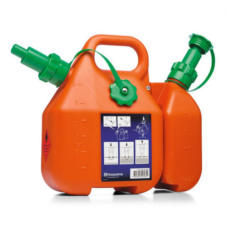Bidón Combi 6L gasolina - 2,5L aceite Husqvarna