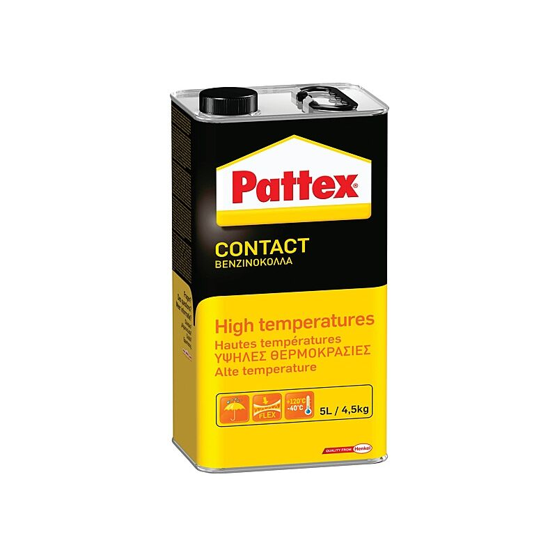 Colle néoprène Pattex Spéciale haute température 4,5 kg