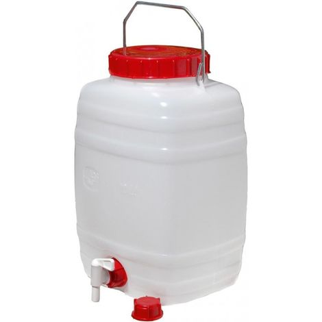 Bidón de agua 10 l -Ley alimentaria- estándar