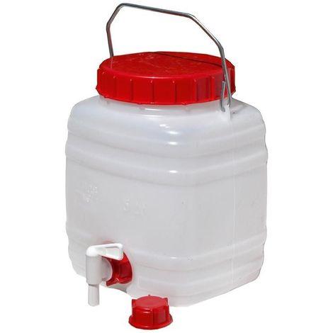 Bidón de agua 5 l -Ley alimentaria- estándar