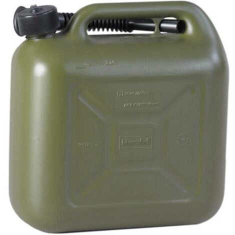 Bidon de carburant Alutec 812869 (L x l x h) 324 x 164 x 333 mm 10 l 1 pc(s)
