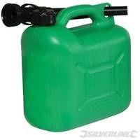 Bidón de plástico para combustible 5 litros