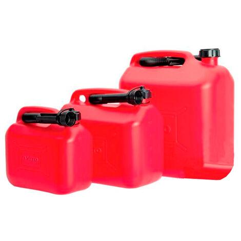 Bidón de polietileno para gasolina