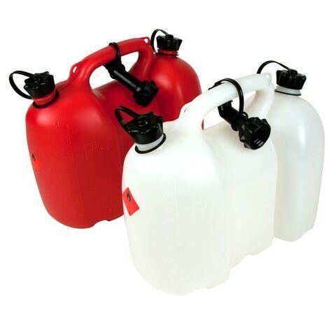 Bidon double réservoir Oregon essence / huile 6 + 3 L