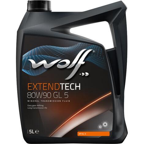 Bidon Extendtech 80W90 GL 5 5L Wolf 8304507