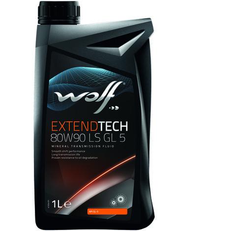 Bidon Extendtech 80W90 LS GL 5 1L Wolf 8300622