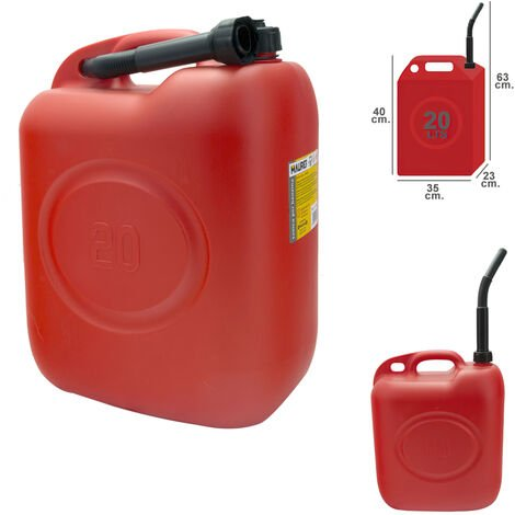 Bidon gasolina 20 litros homologado