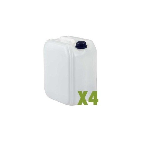 Bidon plastique 10L x4