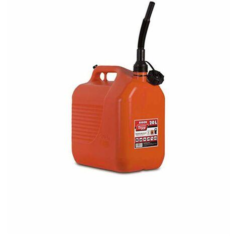 Bidón rectangular para hidrocarburos con cánula | Seleccione la medida | Alta Calidad | Certificado