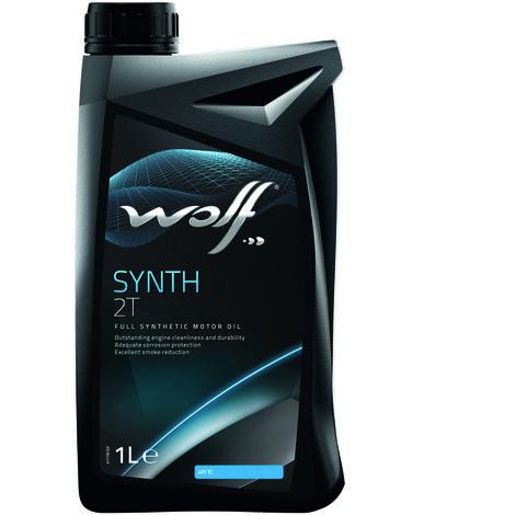 Bidon Synth 2T 1L Wolf 8301704 pour moteur 2 temps