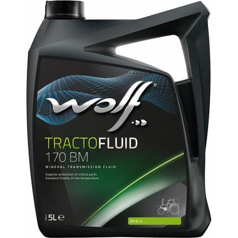 Bidon Tractofluid 170 BM 5L Wolf 8328664 pour transmission