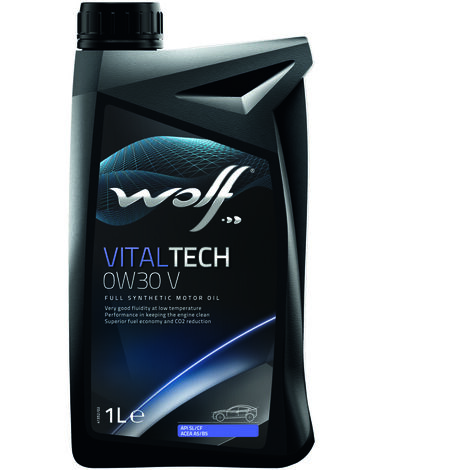 Bidon Vitaltech 0W30 V 1L Wolf 8324062