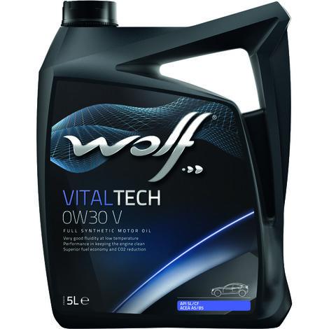 Bidon Vitaltech 0W30 V 5L Wolf 8324260