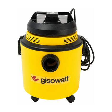 1200 W Gisowatt Technocleaner 20 P Aspiratore Giallo Agua