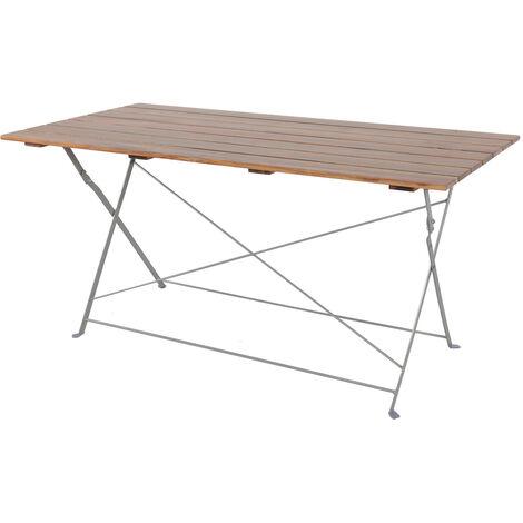 Biergarten Tisch klappbar 120x70cm-DBG1002