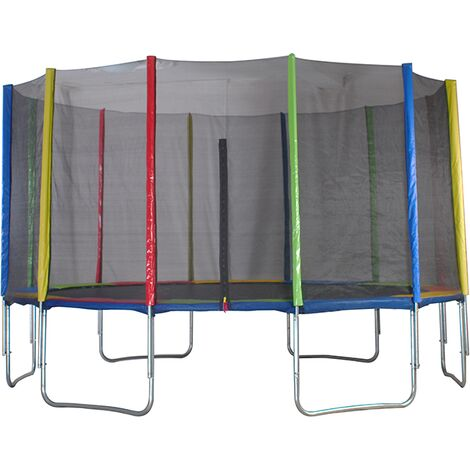 Big Air 14ft Trampoline with Safety Enclosure