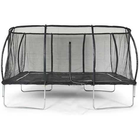 """main image of """"Big Air Extreme 10x14ft Rectangular Trampoline with Safety Enclosure"""""""