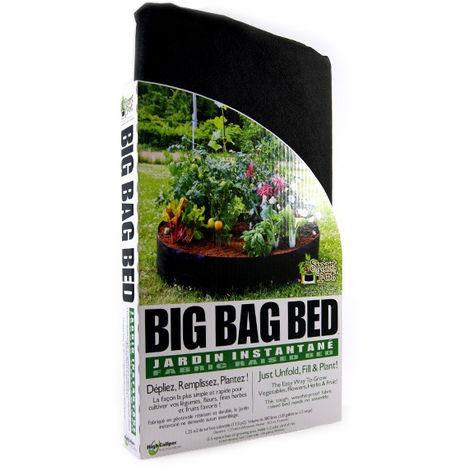 Big Bag Bed - Potager tissu géotextile - 127x30cm - 380l - Smart Pot