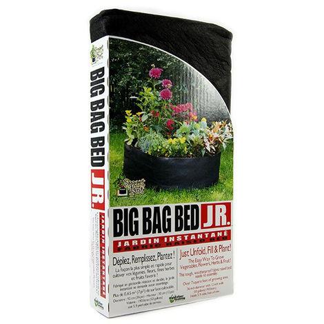Big Bag Bed - Potager tissu géotextile - 90x30cm - 190l - Smart Pot