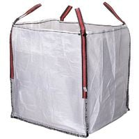 Big Bag Escombros 90X90X100 Blanco Aguanta Hasta 1000Kg