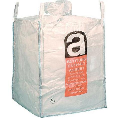 Big Bag Uni B amiante recouvert, 4 dragonnes SWL 1000 kg