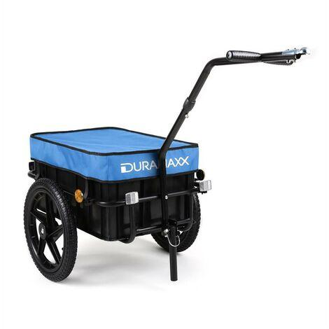 "main image of ""Big Blue Mike Attelage vélo haute traction 70L bleu"""